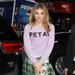 Chloe Grace Moretz Rocks Petal Power in NYC