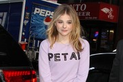 Chloe Grace Moretz Drops by the 'Today' Show