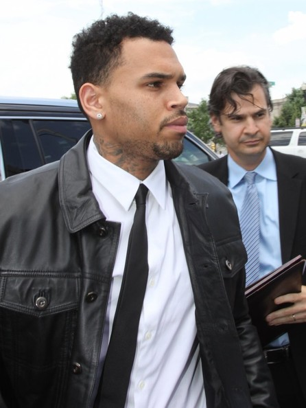 Chris Brown - Chris Brown Heads to Court