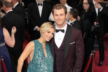 Chris Hemsworth Arrivals at the 86th Annual Academy Awards — Part 2