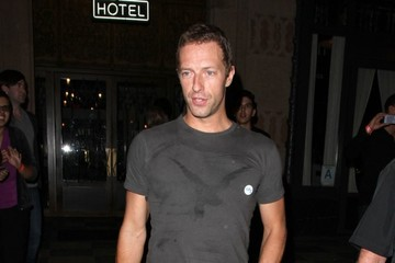 Chris Martin Celebs Come Out for Coldplay