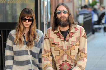 Allison Bridges Chris Robinson And Family Out In The West Village