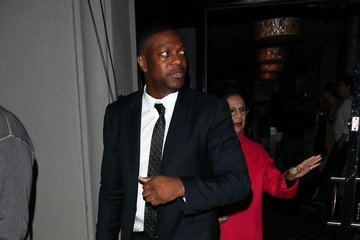 Chris Tucker Celebrities Enjoy A Night Out At Craig's
