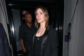 Christa Miller Celebrities Dine Out At Craig's Restaurant