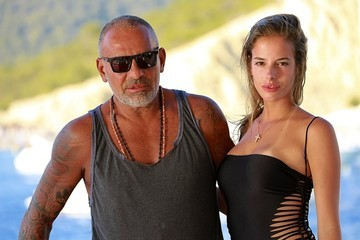 Christian Audigier Christian Audigier Vacations with His Family in Ibizia