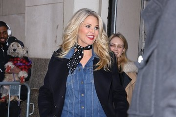 Christie Brinkley Celebrities Leave 'Huff Post Live'