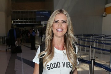Christina El Moussa Christina El Moussa Departs From LAX