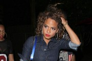 Christina Milian Enjoys A Night Out At Create Nightclub