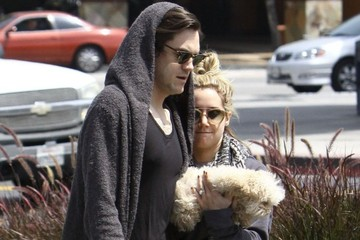 Christopher French Ashley Tisdale & Christopher French Out For Breakfast In Studio City