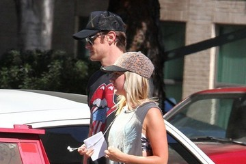 Christopher French Ashley Tisdale & Christopher French Out And About In Los Angeles