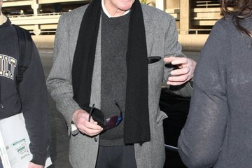 Christopher Plummer Christopher Plummer Arrives at LAX — Part 2