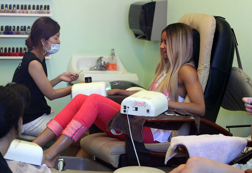 Of crossdressers getting their nails done at a salon got for 24 hour nail salon atlanta