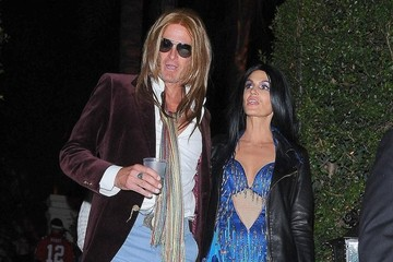 Cindy Crawford Celebs At The Casamigos Halloween Party
