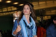 Cindy Crawford Touches Down At LAX