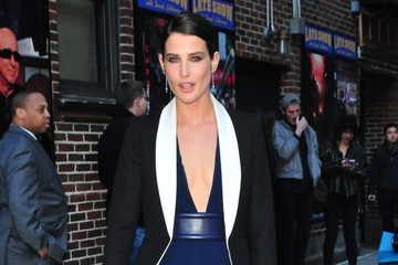 Cobie Smulders Celebs Drop by the 'Late Show with David Letterman'