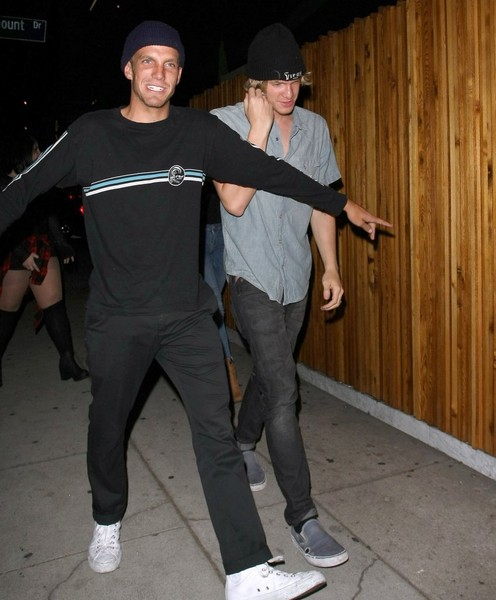 Celebrities Enjoy a Night out at 'The Nice Guy' Nightclub