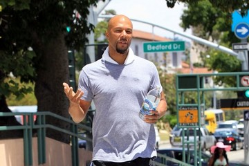 Common Common Out and About in Beverly Hills