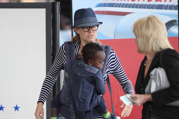 Yoby Britton Connie Britton Heads Out With Yoby