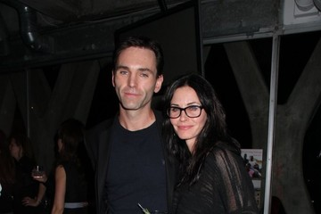 Courteney Cox Courteney Cox and Johnny McDaid Out Late