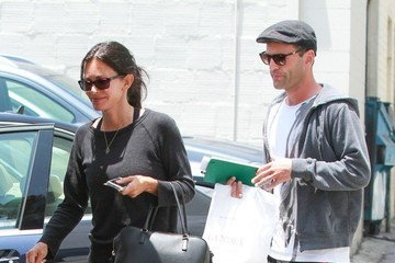 Courteney Cox Courteney Cox and Johnny McDaid Do Lunch