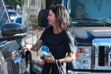 Courteney Cox Courteney Cox Out with a Friend