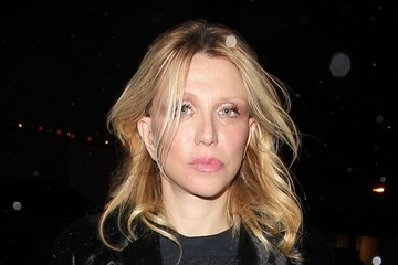 Courtney Love Celebrities Enjoy A Night Out At Craig's