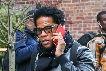 D.L. Hughley D.L. Hughley Out and About in NYC