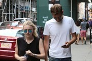 Dakota Fanning & Jamie Strachan Out and About in NYC