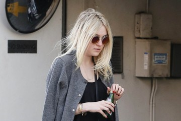 Dakota Fanning Dakota Fanning Shops in Beverly Hills