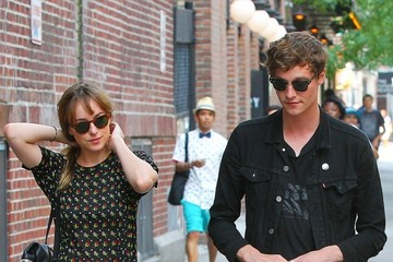 Dakota Johnson Dakota Johnson Steps Out with a Friend