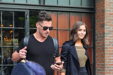 Danny Amendola Danny Amendola and Olivia Culpo Leave Their New York City Hotel