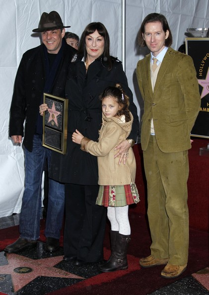 Anjelica Huston Honored With Star On The Hollywood Walk Of Fame