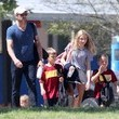 Darby Dempsey Patrick Dempsey Watching His Boys Play Soccer
