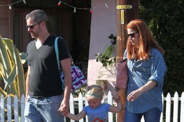 Darren Le Gallo Amy Adams & Family Spotted Out In West Hollywood