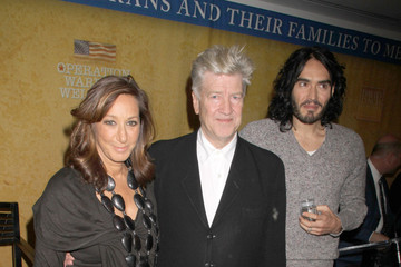 David Lynch Russell Brand The David Lynch Foundation's Operation Warrior Wellness Launch Press Conference