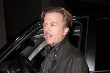 David Spade David Spade Gets Dinner in West Hollywood