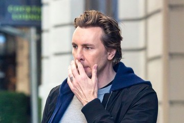 Dax Shepard Kristen Bell and Dax Shepard Check Out Of Their Hotel In NY