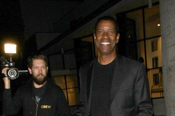 Denzel Washington Denzel Washington Dines at Mr. Chow