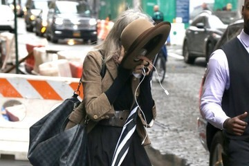 Diane Keaton Shy Diane Keaton Out And About In NYC