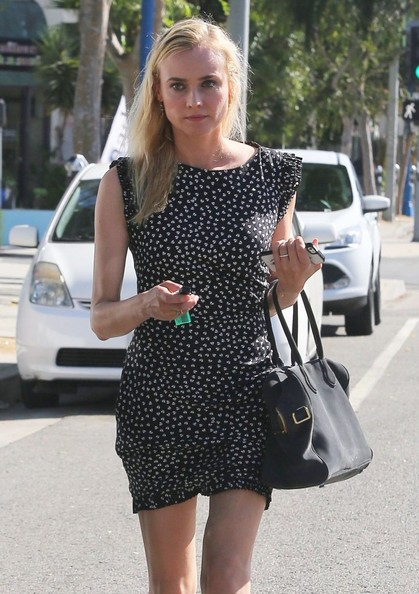 Diane Kruger Shopping In West Hollywood