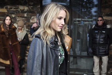 Dianna Agron Celebrities Out And About At The 2017 Sundance Film Festival