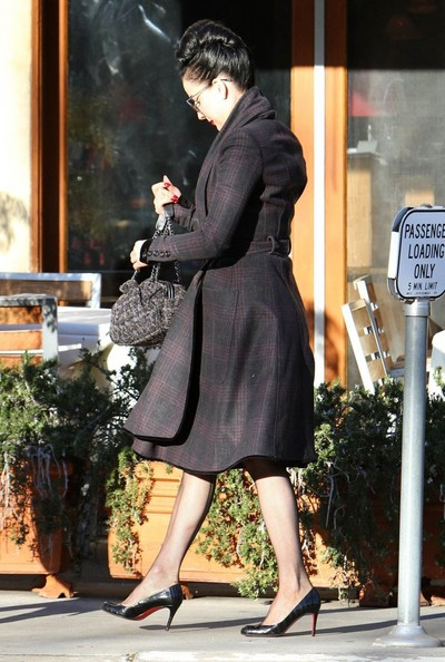 Dita Von Teese - Dita Von Teese Out For Lunch In Studio City
