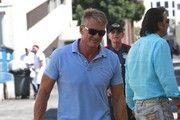 Dolph Lundgren Out For Lunch In Beverly Hills