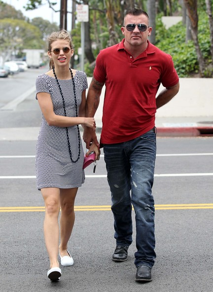 Dominic Purcell And Annalynne Mccord Dominic Purcell and An...