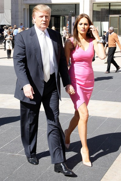 donald trump wife. Donald Trump and his wife