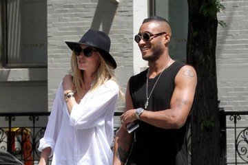 Doutzen Kroes Doutzen Kroes And Sunnery James Stroll Through SOHO