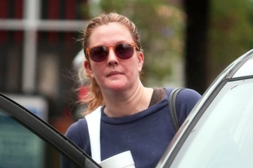 Drew Barrymore Drew Barrymore Leaves the Gym