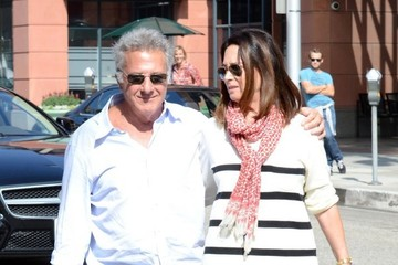 Dustin Hoffman Lisa Hoffman Dustin Hoffman Hangs Out with His Wife
