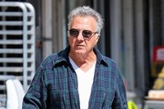 Dustin Hoffman Out And About In NYC