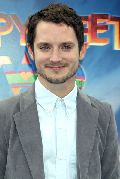 Elijah Wood Celebrities attending the 'Happy Feet Two' premiere at the Grauman's Chinese Theatre in Hollywood, CA.